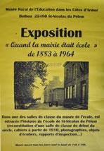 affiche exposition Mairie Ecole