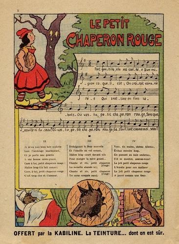 Chant (collection musée de l'école de bothoa)